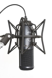 AKG Perception 120 USB condenser microphone with SH 100 shock mount